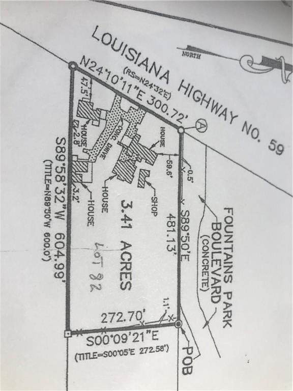 1831 Highway 59 Highway, Mandeville, LA 70448 (MLS #2239257) :: Turner Real Estate Group
