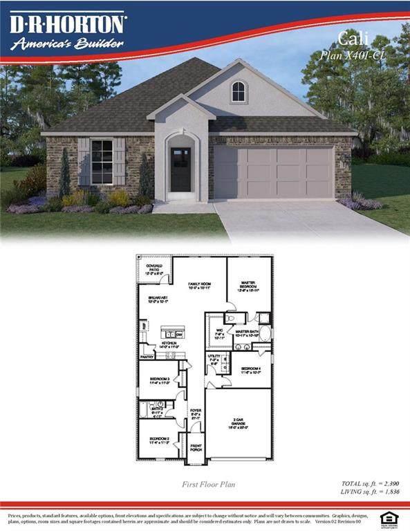 40327 Sedgwick Lane, Ponchatoula, LA 70454 (MLS #2243276) :: Turner Real Estate Group