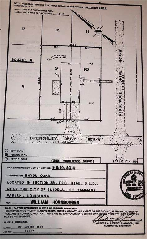 34573 Ridgewood Drive, Slidell, LA 70460 (MLS #2248578) :: Parkway Realty