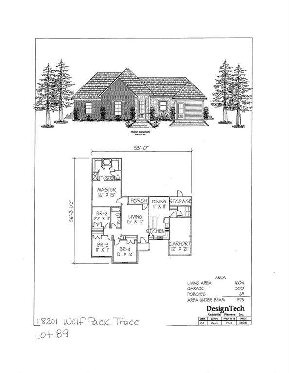 18201 Wolf Pack Trace, Loranger, LA 70446 (MLS #2256182) :: Reese & Co. Real Estate