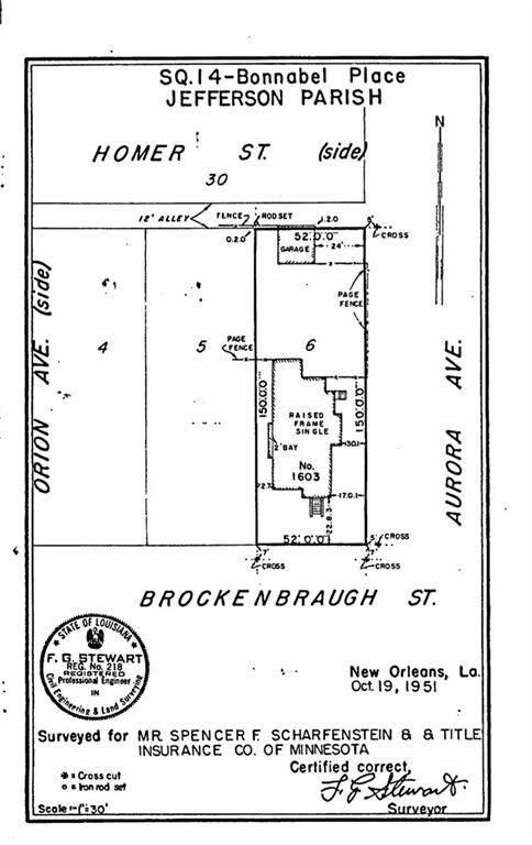 1603 Brockenbraugh Street, Metairie, LA 70005 (MLS #2275023) :: Parkway Realty