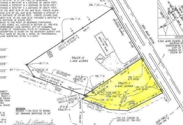 Del Mar Boulevard, Hammond, LA 70403 (MLS #2282048) :: Turner Real Estate Group