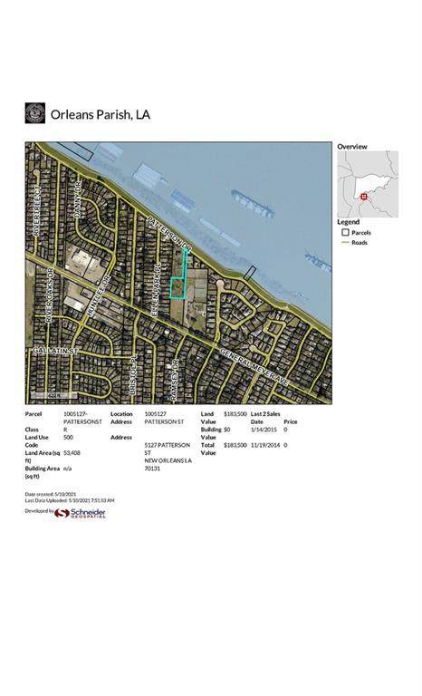1005127 Patterson Street, New Orleans, LA 70131 (MLS #2299958) :: The Sibley Group