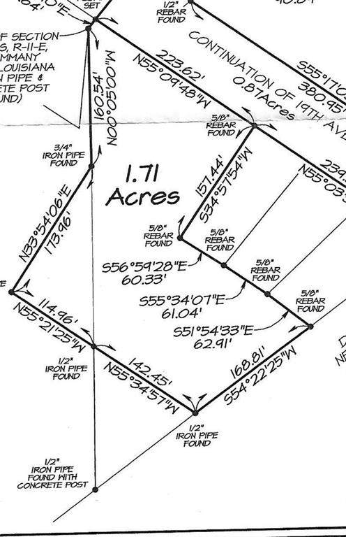 0 W 19TH Avenue, Covington, LA 70433 (MLS #2302123) :: Satsuma Realtors