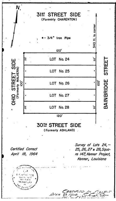 3011 Bainbridge Street, Kenner, LA 70062 (MLS #2305783) :: Turner Real Estate Group