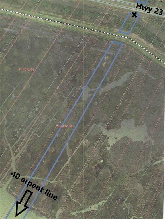 Hwy 23 To The 40 Arpent Line Highway, Buras, LA 70041 (MLS #2318844) :: Top Agent Realty