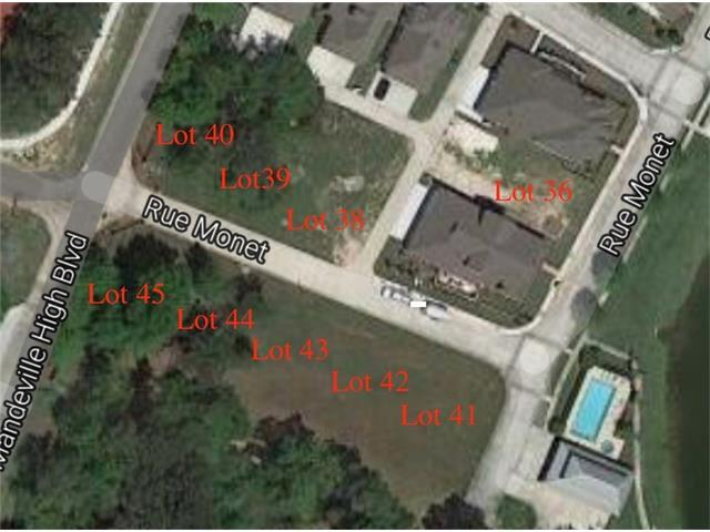 1201 Rue Monet, Mandeville, LA 70471 (MLS #2023045) :: Turner Real Estate Group