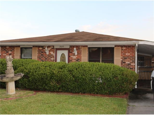 2645 Taffy Drive, Marrero, LA 70072 (MLS #2078618) :: Turner Real Estate Group