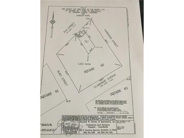 0 N 2ND Street, Covington, LA 70433 (MLS #2107895) :: Turner Real Estate Group