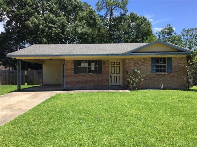 240 Bluebird Drive, Slidell, LA 70458 (MLS #2110470) :: Turner Real Estate Group