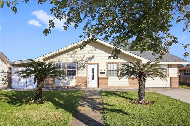 417 Cherrywood Drive, Gretna, LA 70056 (MLS #2128654) :: Turner Real Estate Group