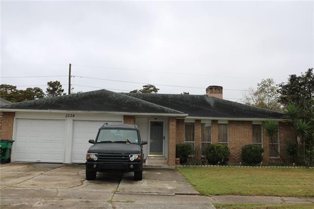 2228 Oakmere Drive, Harvey, LA 70058 (MLS #2181075) :: Turner Real Estate Group