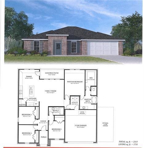 19455 Providence Ridge Drive, Hammond, LA 70403 (MLS #2186693) :: Crescent City Living LLC