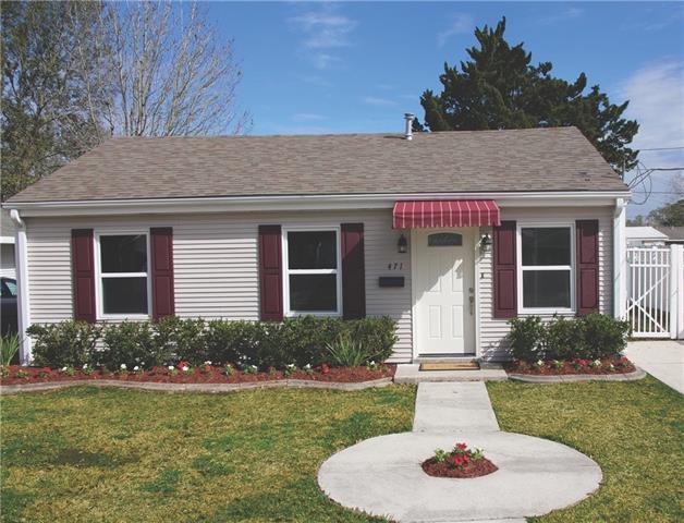 471 Gordon Avenue, Harahan, LA 70123 (MLS #2190452) :: Crescent City Living LLC