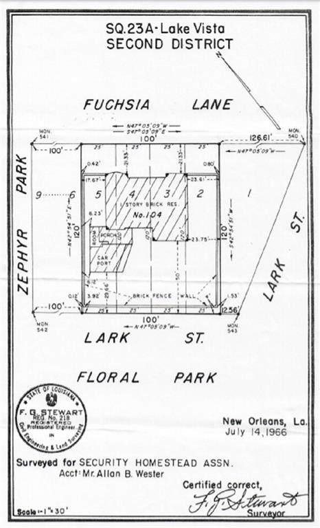104 Lark Street, New Orleans, LA 70124 (MLS #2220945) :: Crescent City Living LLC