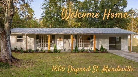1605 Dupard Street, Mandeville, LA 70448 (MLS #2230713) :: Inhab Real Estate