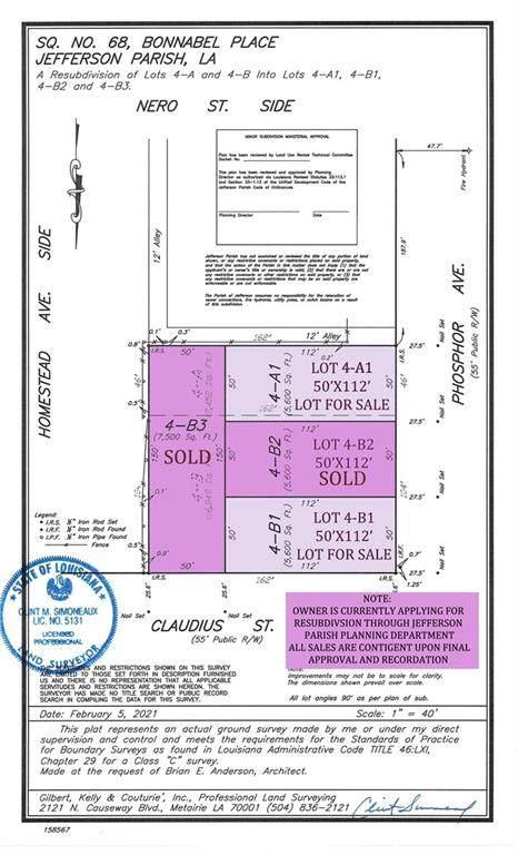 1149 Phosphor Avenue, Metairie, LA 70005 (MLS #2291609) :: Crescent City Living LLC