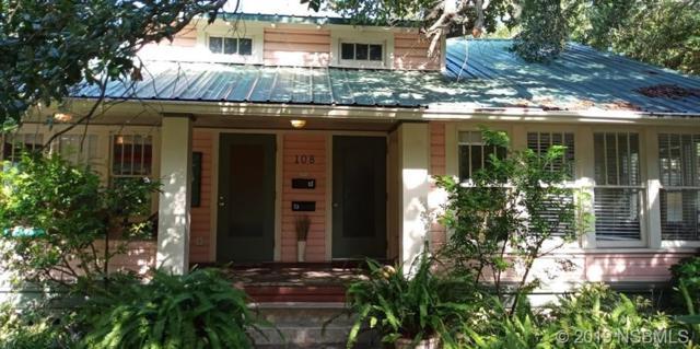108 N Peninsula Avenue, New Smyrna Beach, FL 32169 (MLS #1050531) :: Florida Life Real Estate Group