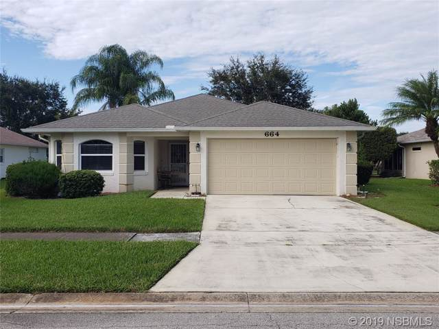 664 Wellesley Court, New Smyrna Beach, FL 32168 (MLS #1052723) :: Florida Life Real Estate Group