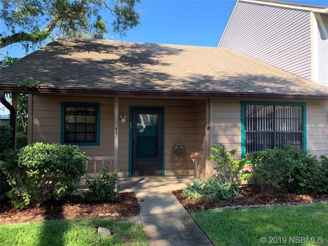 232 N Ridgewood Avenue H43, Edgewater, FL 32132 (MLS #1054132) :: Florida Life Real Estate Group