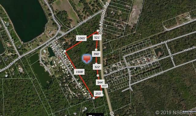 4137 Old Mission Rd, New Smyrna Beach, FL 32168 (MLS #1055328) :: Florida Life Real Estate Group