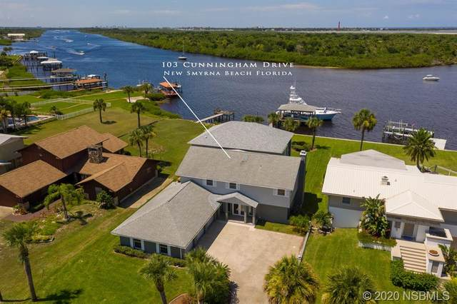 103 Cunningham Drive, New Smyrna Beach, FL 32168 (MLS #1059851) :: Florida Life Real Estate Group