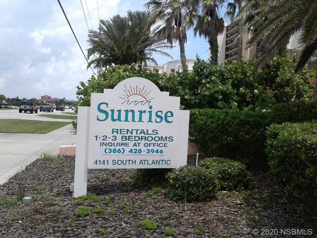 4141 S Atlantic Avenue #705, New Smyrna Beach, FL 32169 (MLS #1059870) :: Florida Life Real Estate Group