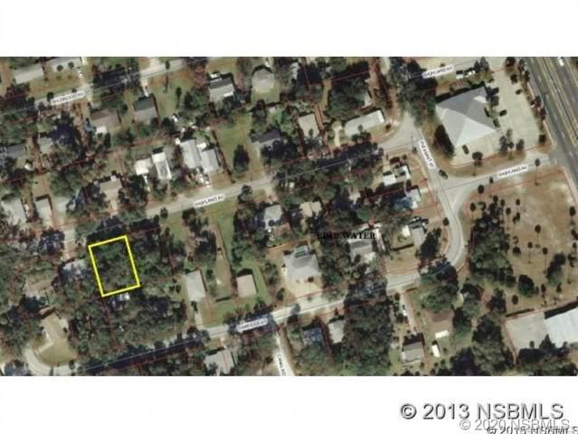 0 Highland Avenue, Edgewater, FL 32132 (MLS #1060664) :: Florida Life Real Estate Group