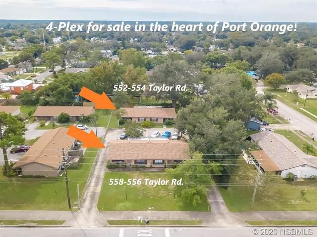 558 Taylor Road, Port Orange, FL 32127 (MLS #1061109) :: Florida Life Real Estate Group