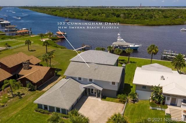 103 Cunningham Drive, New Smyrna Beach, FL 32168 (MLS #1061994) :: BuySellLiveFlorida.com
