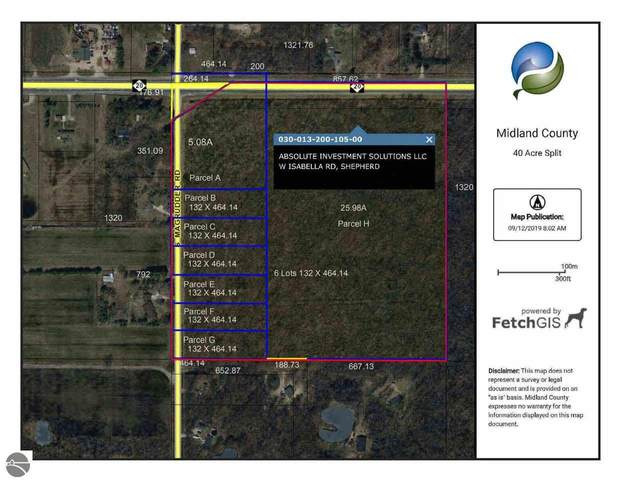 00 S Magruder Road, Shepherd, MI 48883 (MLS #1873190) :: Boerma Realty, LLC