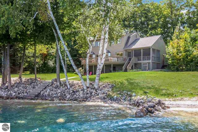 588 Sugarbush Drive, Kewadin, MI 49648 (MLS #1873852) :: Michigan LifeStyle Homes Group