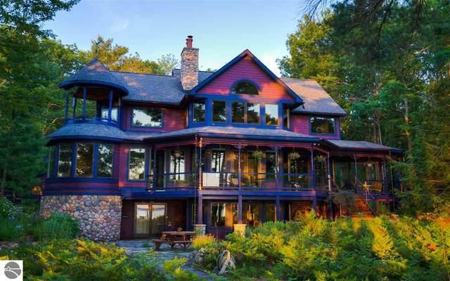 4468 Juniper Drive, Kewadin, MI 49648 (MLS #1874992) :: Michigan LifeStyle Homes Group