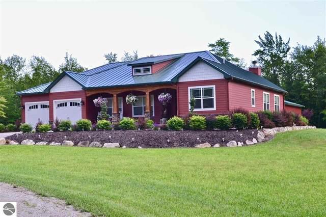 203 S Golden Beach Drive, Kewadin, MI 49648 (MLS #1875188) :: Michigan LifeStyle Homes Group