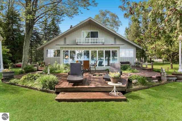 4582 Hopkins Lane, Kewadin, MI 49648 (MLS #1876444) :: Michigan LifeStyle Homes Group