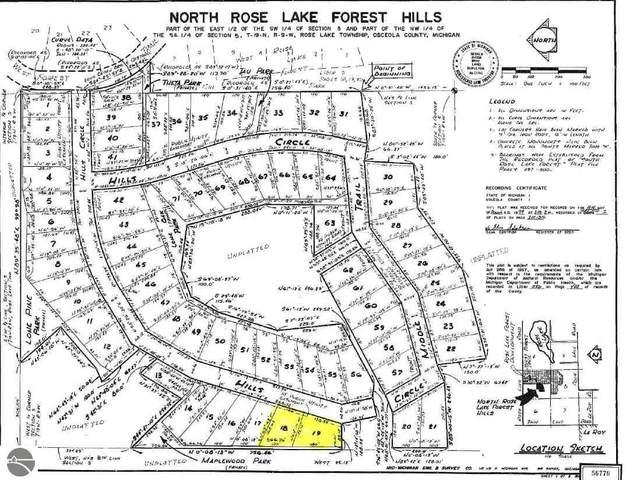Lot 18 and 19 Hills Circle, Leroy, MI 49655 (MLS #1881136) :: Michigan LifeStyle Homes Group