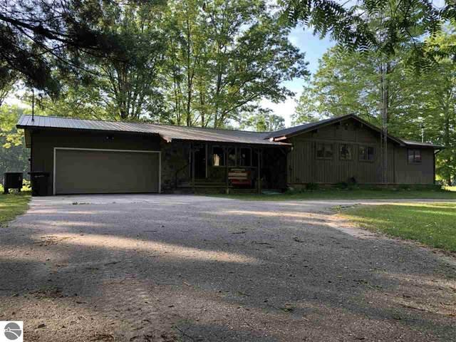 17255 Old Logging Road, Hersey, MI 49639 (MLS #1888783) :: Boerma Realty, LLC