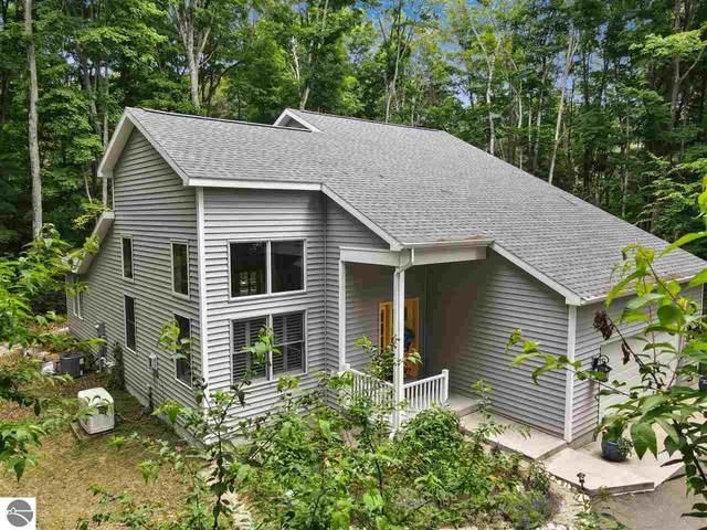 4104 Michigan Trail, Kewadin, MI 49648 (MLS #1889918) :: Brick & Corbett