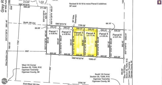 0 Ridge Run, West Branch, MI 48661 (MLS #1863239) :: Brick & Corbett
