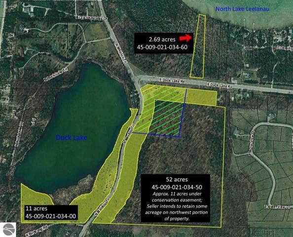 60.6 acres E Duck Lake Road, Leland, MI 49654 (MLS #1870036) :: Team Dakoske | RE/MAX Bayshore
