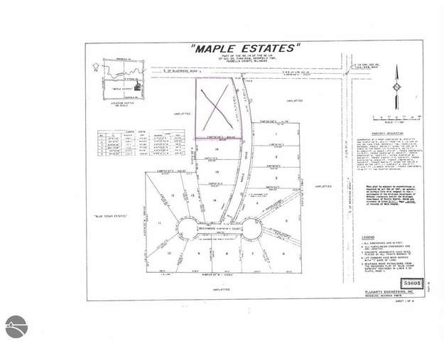 TBD W Maple Drive, Mt Pleasant, MI 48858 (MLS #1855792) :: Michigan LifeStyle Homes Group