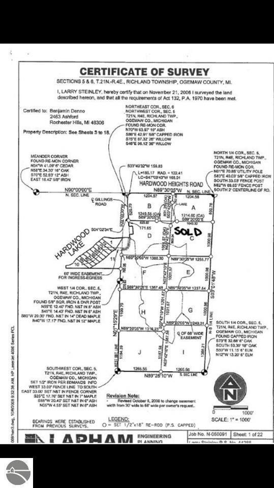 Gillings Road, Prescott, MI 48756 (MLS #1856918) :: Team Dakoske | RE/MAX Bayshore