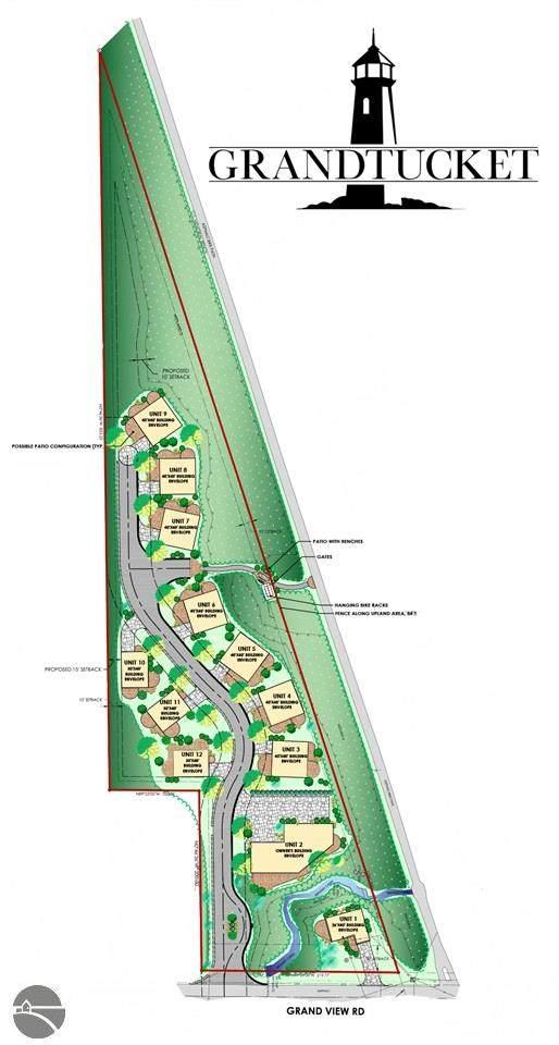 2.5 acres Grandview Road, Traverse City, MI 49684 (MLS #1890580) :: Team Dakoske | RE/MAX Bayshore