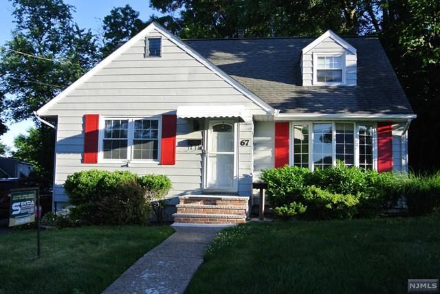 67 Carlton Terrace, Nutley, NJ 07110 (MLS #1826433) :: William Raveis Baer & McIntosh