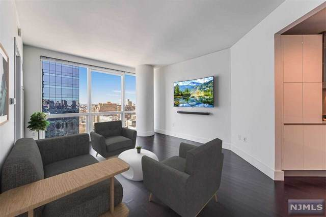 77 Hudson Street #2202, Jersey City, NJ 07302 (MLS #21001544) :: William Raveis Baer & McIntosh