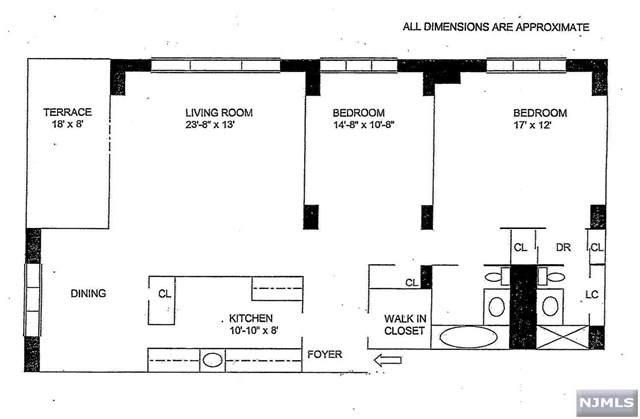 2100 Linwood Avenue 17-S, Fort Lee, NJ 07024 (MLS #21013193) :: Corcoran Baer & McIntosh