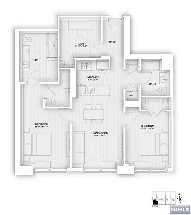 160 1st Street #201, Jersey City, NJ 07302 (MLS #21033131) :: Team Braconi   Christie's International Real Estate   Northern New Jersey