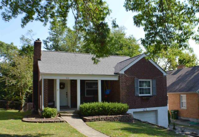60 Burdsall Avenue, Fort Mitchell, KY 41017 (MLS #520299) :: Mike Parker Real Estate LLC