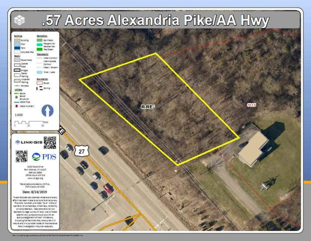 0 Alexandria Pike, Cold Spring, KY 41076 (MLS #530059) :: Mike Parker Real Estate LLC