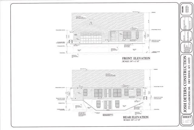 575 Claiborne, Dry Ridge, KY 41035 (MLS #531453) :: Caldwell Realty Group